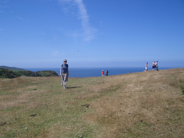 Walk to Morte Point